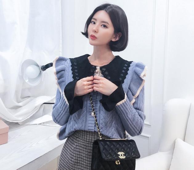 1区韩国本土服装代购(韩国圆通直发)babirolen-开襟衫(2018-11-20上架)