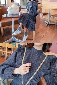2018新款韩国服装babirolen品牌时尚流行独特连衣裙(2018.1月)
