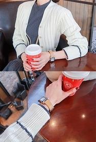 2018新款韩国服装babirolen品牌时尚流行舒适开襟衫(2018.1月)