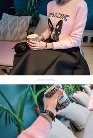 2018新款韩国服装babirolen品牌时尚流行可爱针织衫(2018.1月)