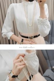 2018新款韩国服装babirolen品牌时尚流行舒适衬衫(2018.1月)