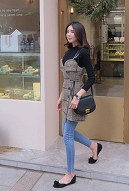 2018新款韩国服装babirolen品牌时尚流行T恤+连衣裙套装(2018.1月)