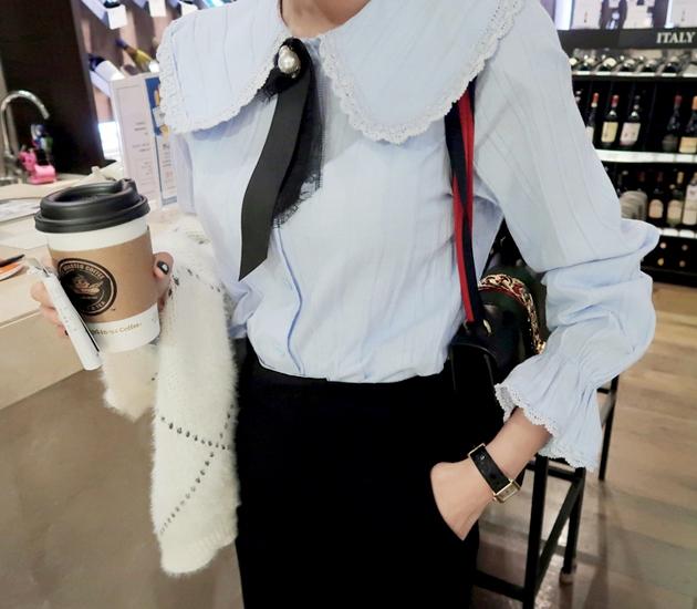 1区韩国本土服装代购(韩国圆通直发)babirolen-衬衫(2019-01-18上架)
