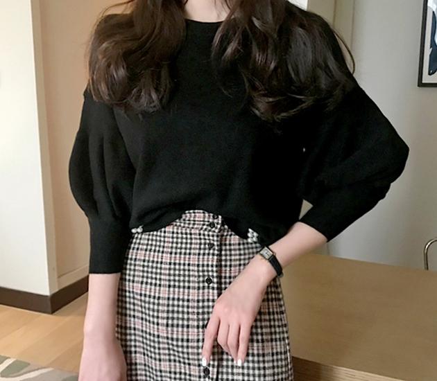 1区韩国本土服装代购(韩国圆通直发)babirolen-针织衫(2019-01-18上架)