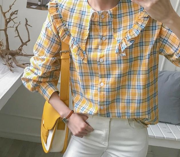 1区韩国本土服装代购(韩国圆通直发)babirolen-衬衫(2019-03-19上架)