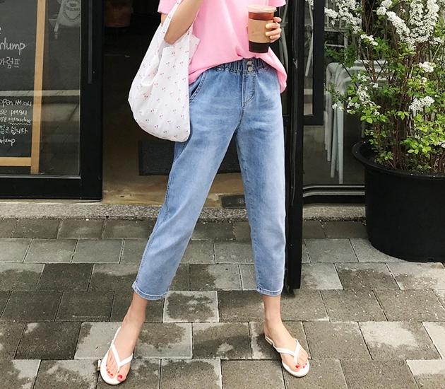 1区韩国本土服装代购(韩国圆通直发)babirolen-牛仔裤(2019-05-19上架)