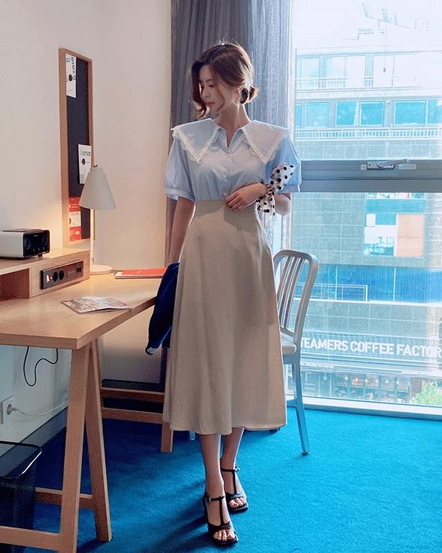 1区100%正宗韩国官网代购(韩国直发包国际运费)BA_Picknsale-长裙(2020-05-18上架)