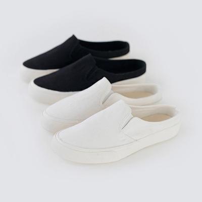1区韩国本土服装代购(韩国圆通直发)Banharu-舒适魅力百搭平底鞋(2018-07-09上架)