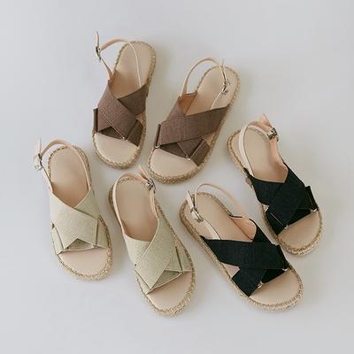 1区韩国本土服装代购(韩国圆通直发)Banharu-凉鞋(2019-01-09上架)