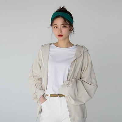 Banharu-韩版舒适开襟卫衣