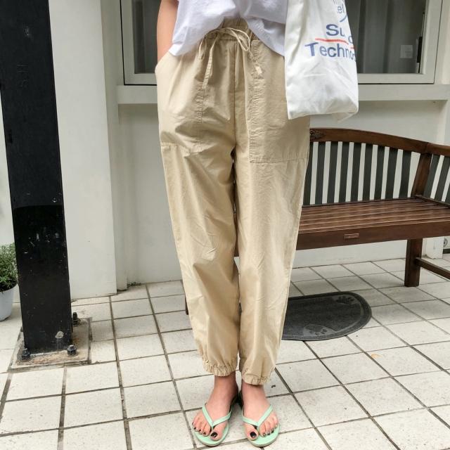 1区100%正宗韩国官网代购(韩国直发包国际运费)Banharu-长裤(2019-06-18上架)