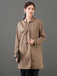 1区韩国代购正品验证boen-BOCT00756116-韩国新品翻领休闲大衣