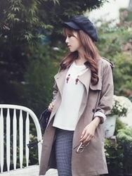 1区韩国代购正品验证bongjashop-BJCT00755845-韩版魅力高档人气流行大衣
