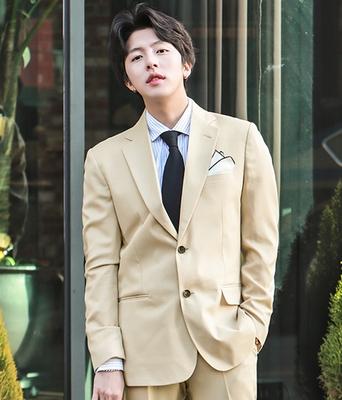 1区韩国本土服装代购(韩国圆通直发)boomstyle-秀气绅士韩版魅力西装(本商品非新品请联系客服核对再下单-14上架)