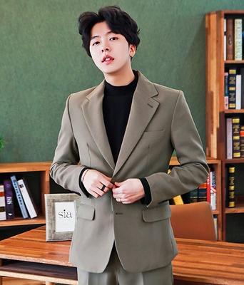 1区韩国本土服装代购(韩国圆通直发)boomstyle-高档人气时尚魅力韩版西装外套(本商品非新品请联系客服核对再下单-14上架)