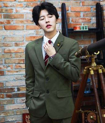 1区韩国本土服装代购(韩国圆通直发)boomstyle-普通精致韩版魅力时尚西装上衣(本商品非新品请联系客服核对再下单-14上架)