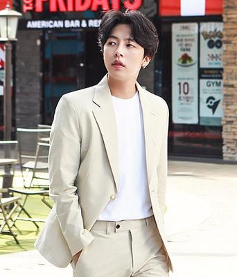 1区韩国本土服装代购(韩国圆通直发)boomstyle-西装领舒适气质西装(本商品非新品请联系客服核对再下单-14上架)