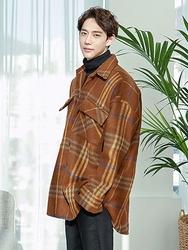 1区2017冬季新款韩国服装boomstyle品牌男士帅气高档秀气大衣(2017.12月)