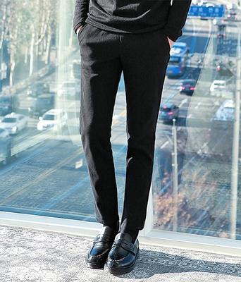 boomstyle-男士百搭纯色舒适长裤