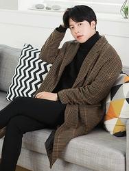 1区2017冬季新款韩国服装boomstyle品牌韩版魅力休闲舒适大衣(2017.12月)