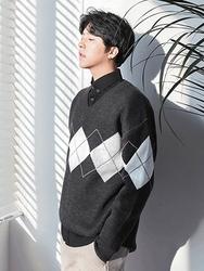 1区2017冬季新款韩国服装boomstyle品牌韩版个性舒适魅力针织衫(2017.12月)