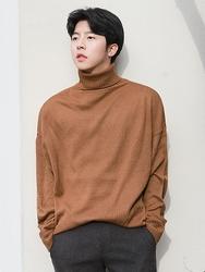 1区2017冬季新款韩国服装boomstyle品牌男士秀气魅力高领针织衫(2017.12月)