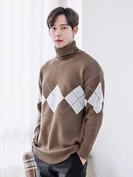 1区2017冬季新款韩国服装boomstyle品牌韩版个性简约秀气针织衫(2017.12月)