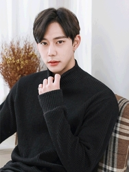 1区2017冬季新款韩国服装boomstyle品牌韩版男士时尚帅气针织衫(2017.12月)