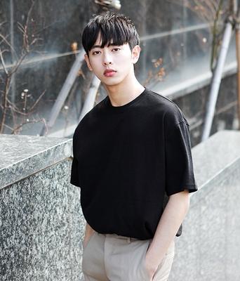 1区韩国本土服装代购(韩国圆通直发)boomstyle-韩版时尚纯色T恤(2018-04-14上架)