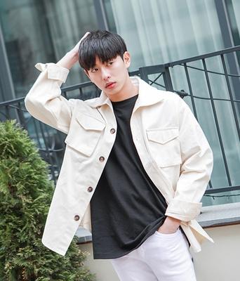 boomstyle-韩版时尚直筒夹克