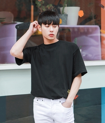 1区韩国本土服装代购(韩国圆通直发)boomstyle-韩版气质魅力T恤(2018-04-14上架)