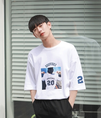 1区韩国本土服装代购(韩国圆通直发)boomstyle-韩版时尚气质T恤(2018-04-14上架)
