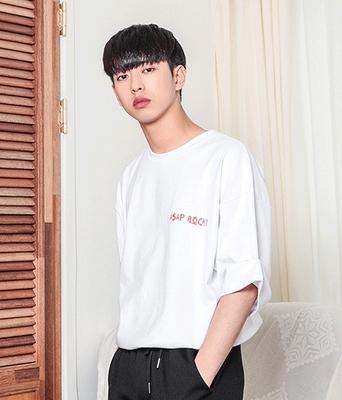 1区韩国本土服装代购(韩国圆通直发)boomstyle-韩版舒适休闲T恤(2018-04-14上架)
