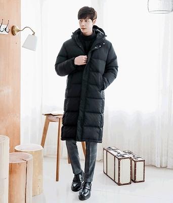 1区韩国本土服装代购(韩国圆通直发)boomstyle-韩版舒适长款羽绒服(本商品非新品请联系客服核对再下单-14上架)