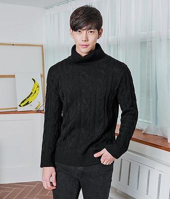 boomstyle-韩版舒适高领针织衫