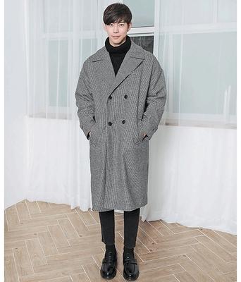 boomstyle-韩版舒适长款大衣