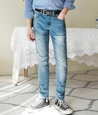 boomstyle-韩版时尚舒适牛仔裤