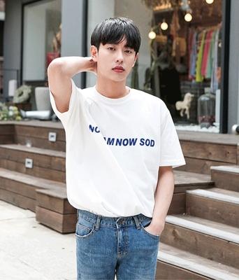 1区韩国本土服装代购(韩国圆通直发)boomstyle-韩版时尚短袖T恤(2018-04-14上架)