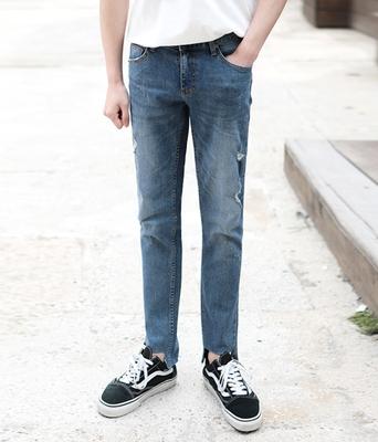 1区韩国本土服装代购(韩国圆通直发)boomstyle-韩版时尚直筒牛仔裤(2018-04-14上架)
