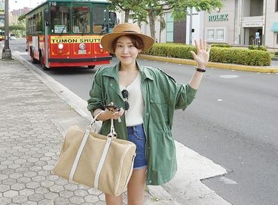 candyglow-纯色韩版女性个性大衣