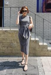 candyglow-韩国系带魅力新款女性夏季韩国代购正品连衣裙女装2017年06月21日06月款