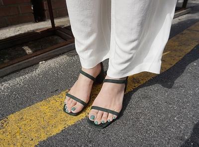 1区韩国本土服装代购(韩国圆通直发)candyglow-凉爽新款坡跟高跟鞋(2018-04-20上架)