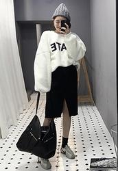 2018新款韩国服装candyglow品牌前开衩时尚魅力纯色长裙(2018.1月)