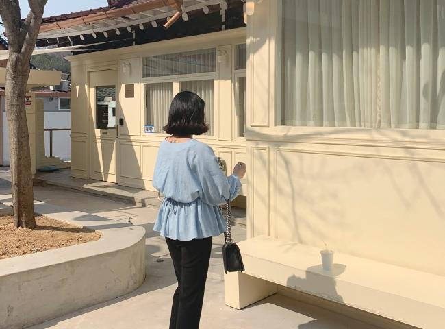 1区韩国本土服装代购(韩国圆通直发)candyglow-衬衫(2019-03-20上架)