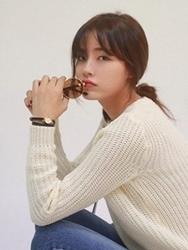1区韩国代购正品验证cherrykoko-CHKN00755811-流行魅力韩版纯色针织衫
