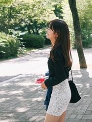 1区韩国代购正品验证cherrykoko-CHSS00766016-流行魅力韩版新款短裙