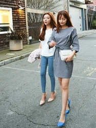 1区韩国代购正品验证cherrykoko-CHOP00849225-舒适魅力韩版新款连衣裙