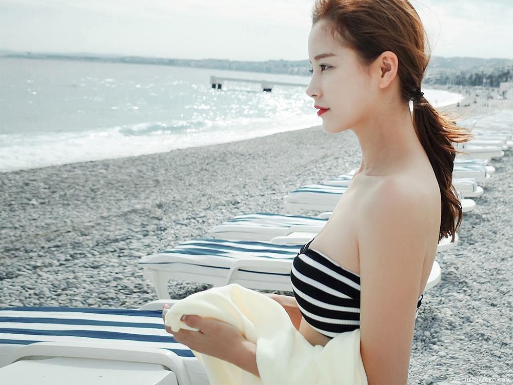 WWW_2KOKO_COM_韩国代购品牌cherrykoko货号chbk01060284韩国条纹韩版性感时尚泳装
