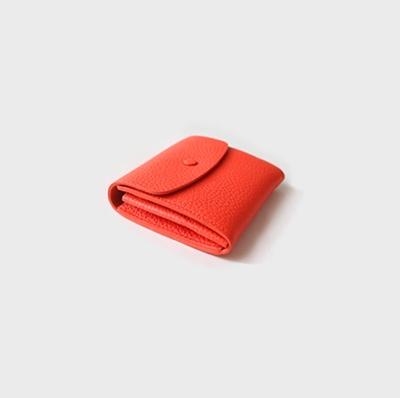 1区韩国本土服装代购(韩国圆通直发)CRKO-皮革制作短款钱包(本商品非新品请联系客服核对再下单-13上架)