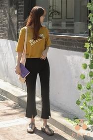 cherrykoko-韩国时尚流行漂亮宽松韩国代购长裤女装2017年06月21日06月款